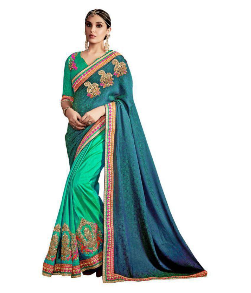 Urban India Multicoloured Art Silk Saree