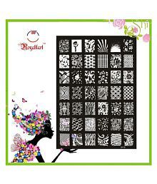 Nail art accessories buy nail art accessories online at best 2 added royalkart nail art stamping kit prinsesfo Image collections