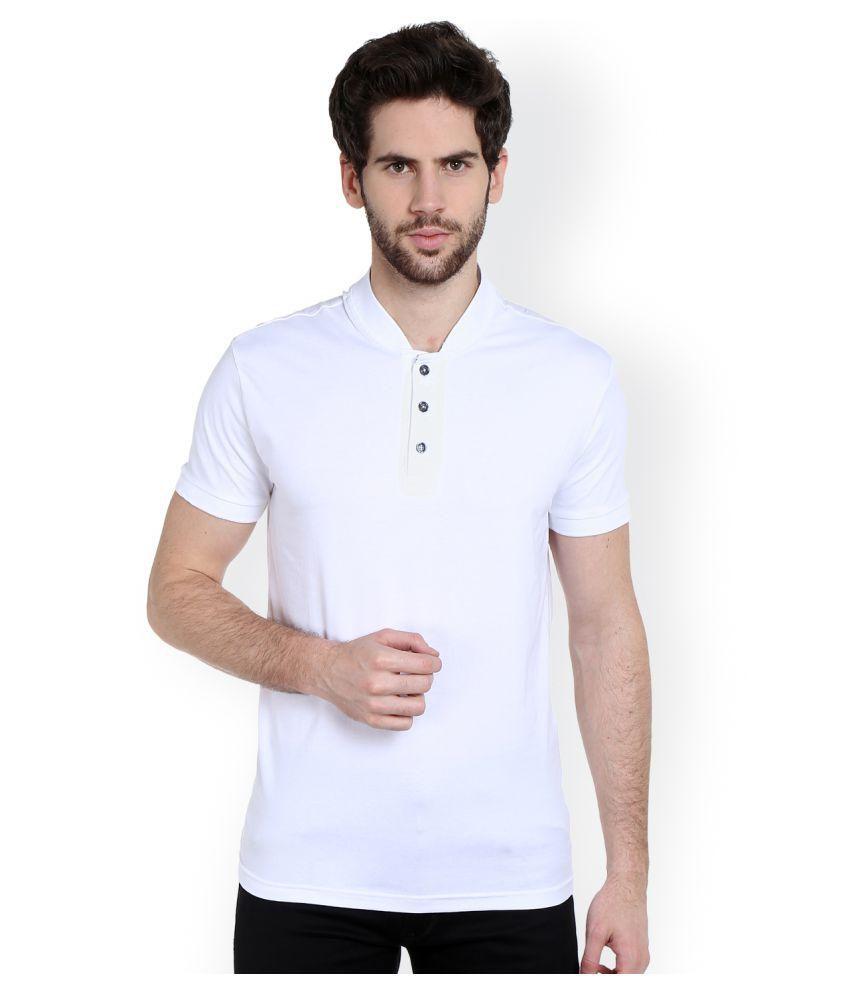 Dream of Glory Inc. White Round T-Shirt
