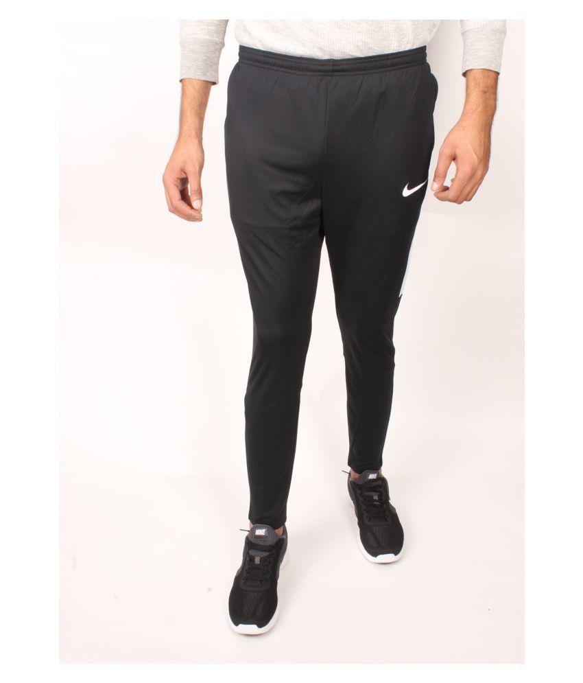 Nike Black Regular -Fit Flat Joggers