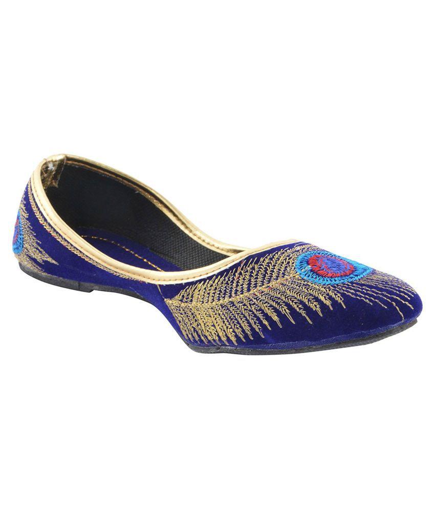 gofits Multi Color Ethnic Footwear