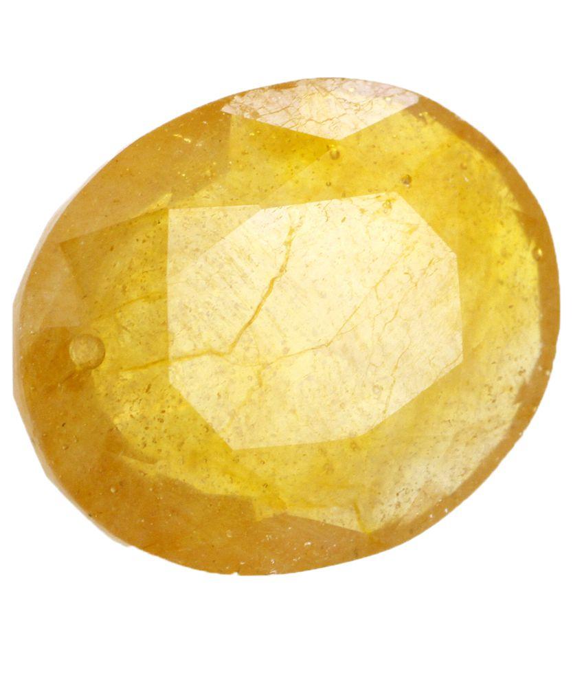 Avaatar 13.25 -Ratti IGL Yellow Sapphire Precious Gemstone