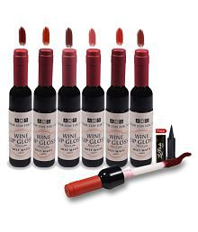ADS Wine Meet Matte 24Hours Lip Gloss Liquid Wine 8 ml Pack of 6