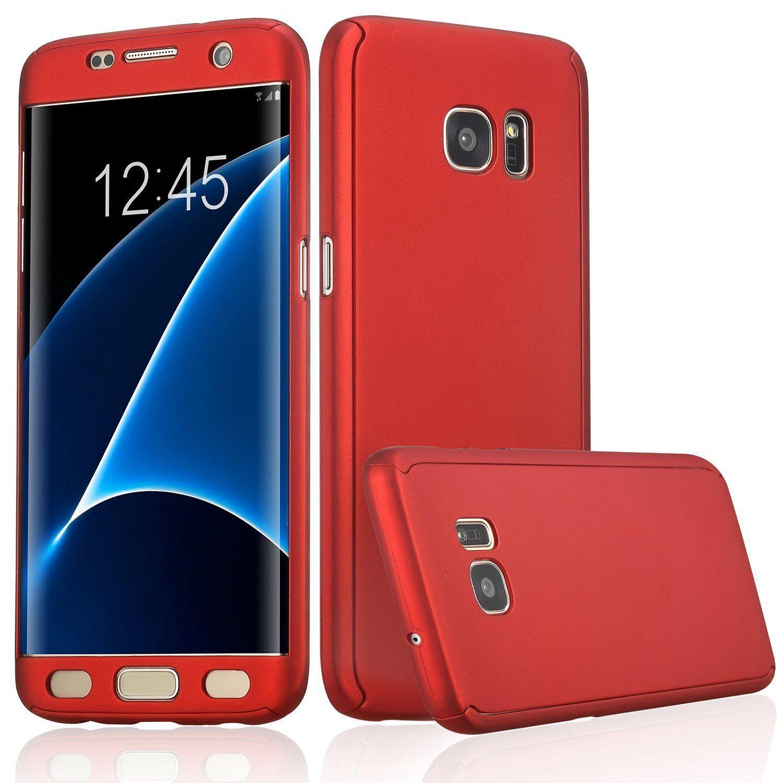Samsung Galaxy S8 Plus Bumper Cases ClickAway - Red