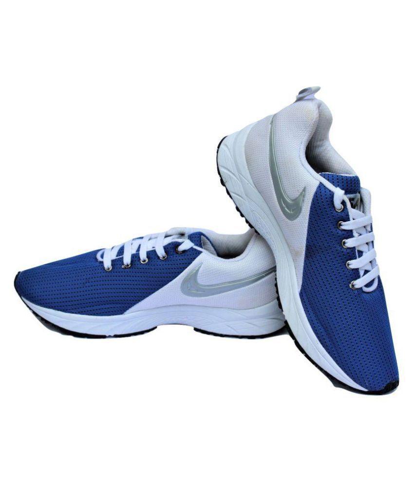 171cb38252de RW SAGA Blue   White Running Shoes