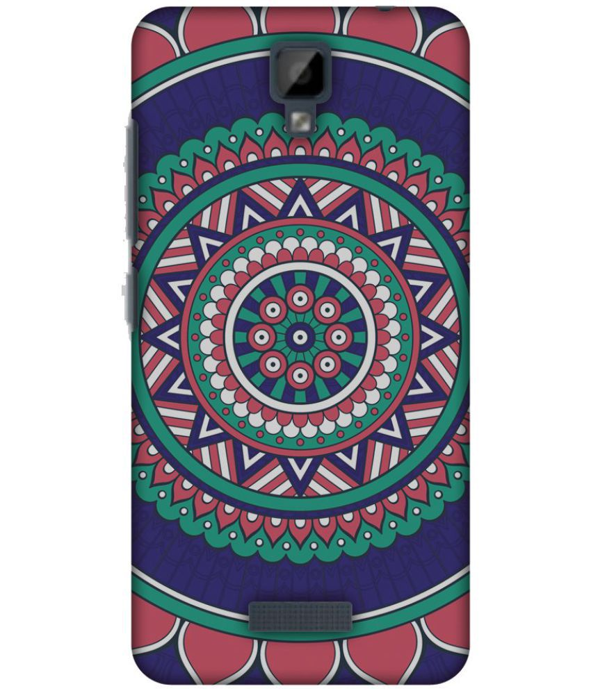 Gionee P7 Printed Cover By AMZER