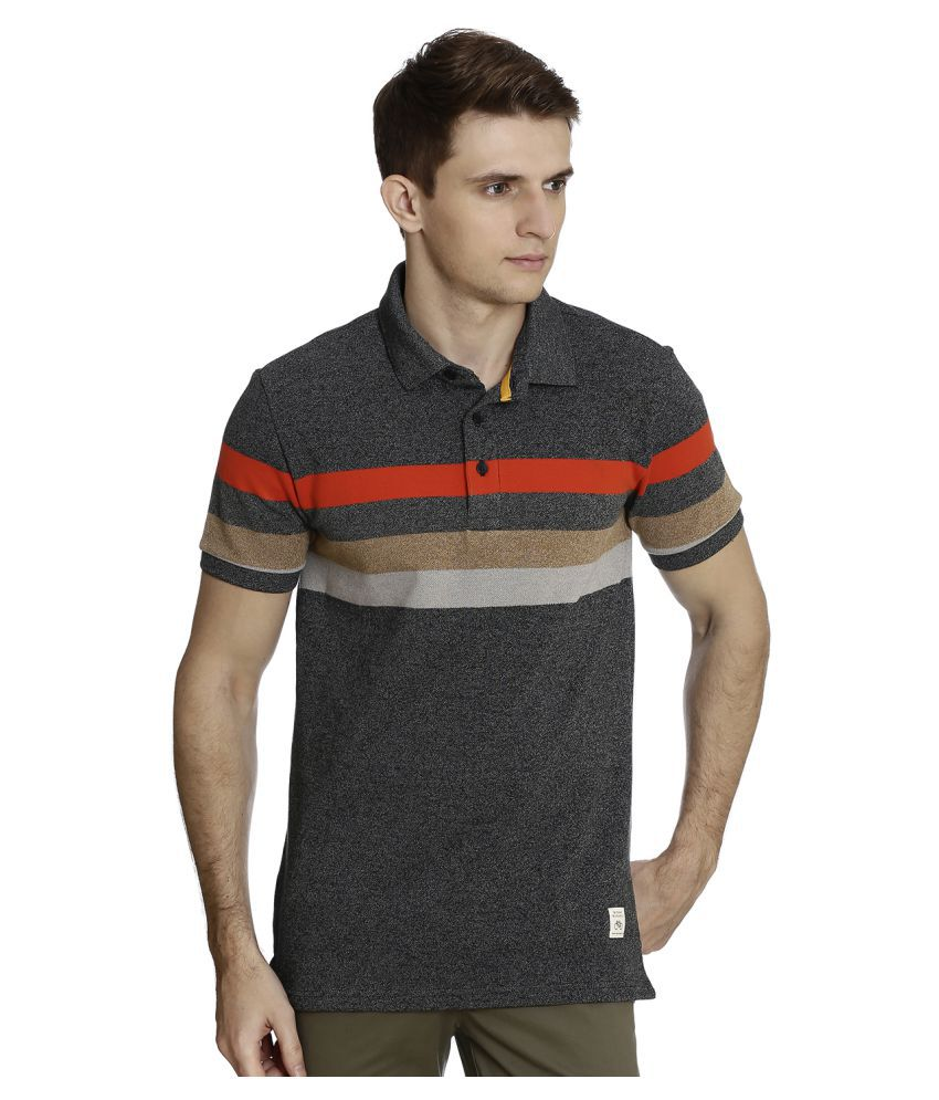 United Colors of Benetton Multi Cotton Polo T-Shirt