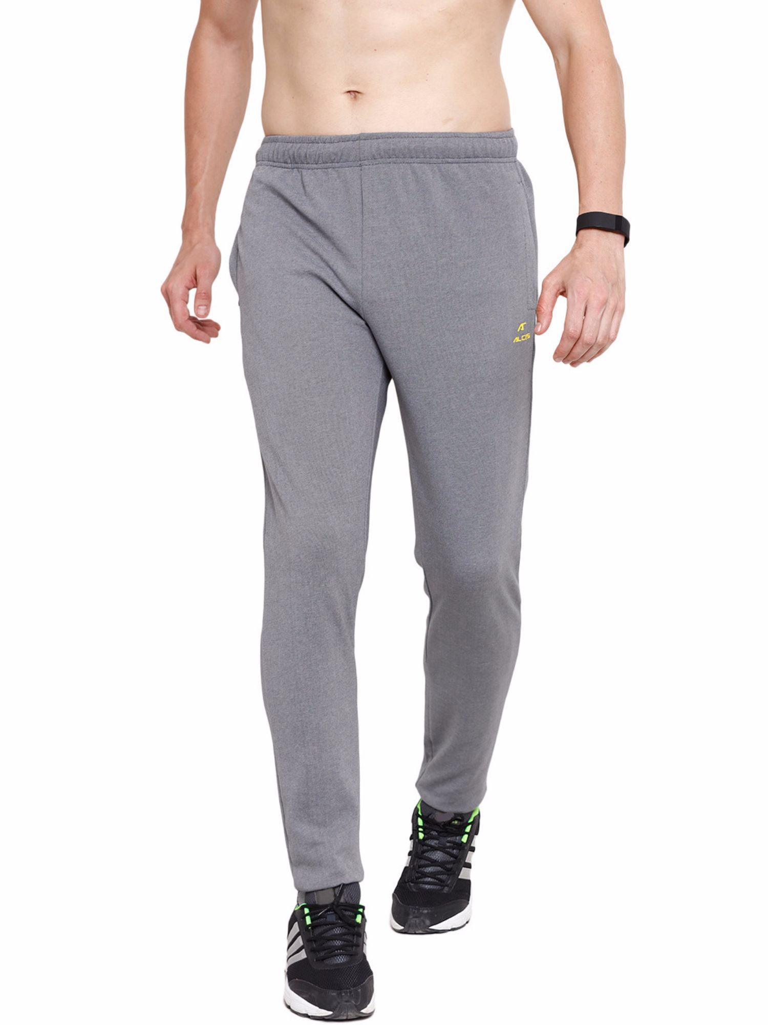 Alcis Men Grey Slounge Trackpants