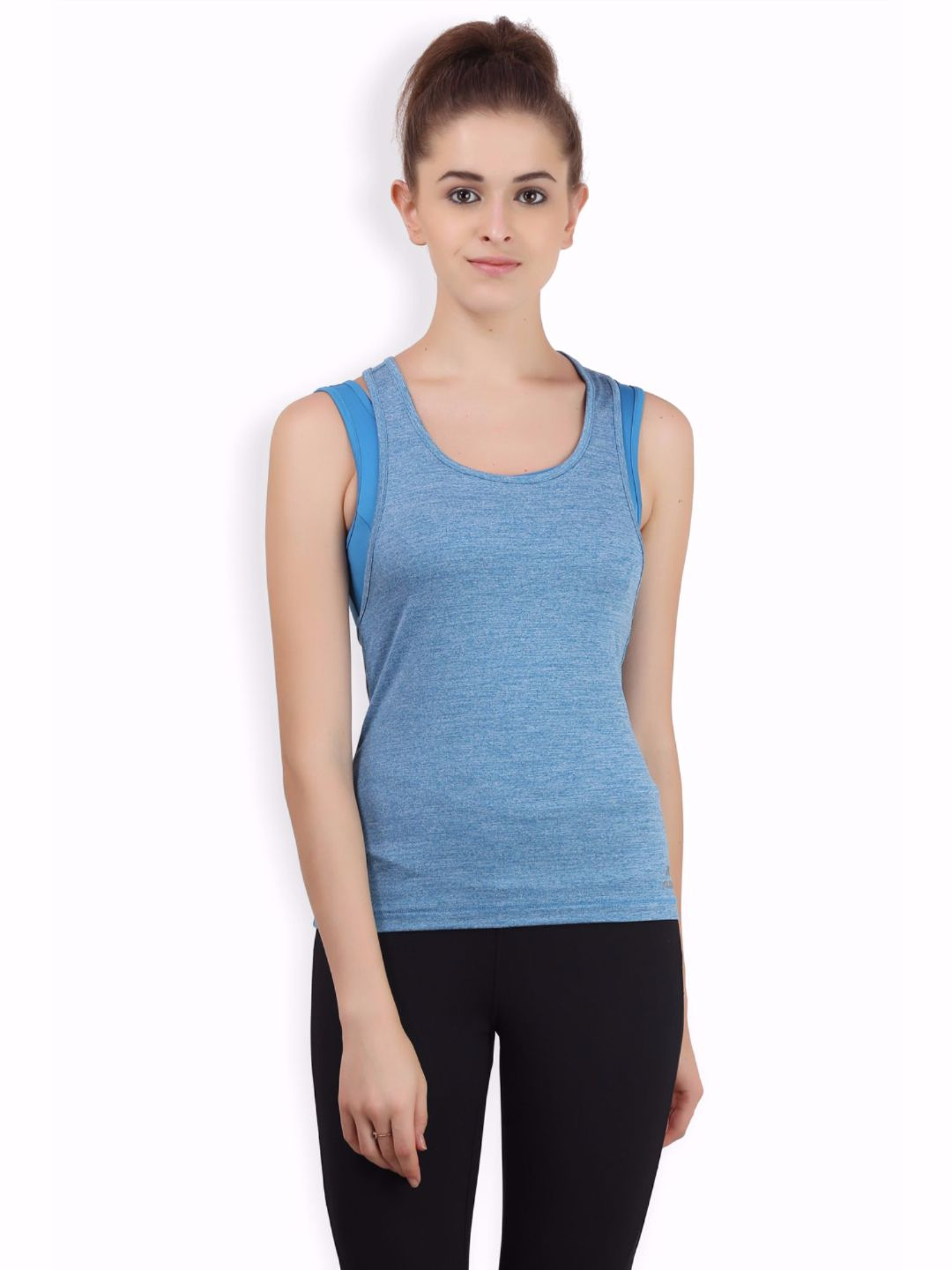 Alcis Women Blue Bra Tank Top