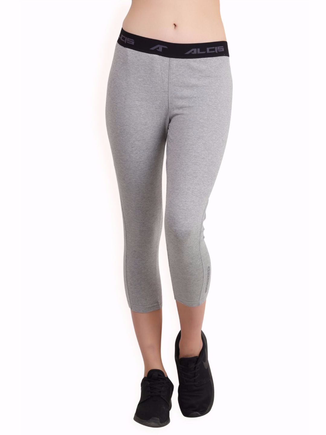 Alcis Women Grey Core Fit Pants