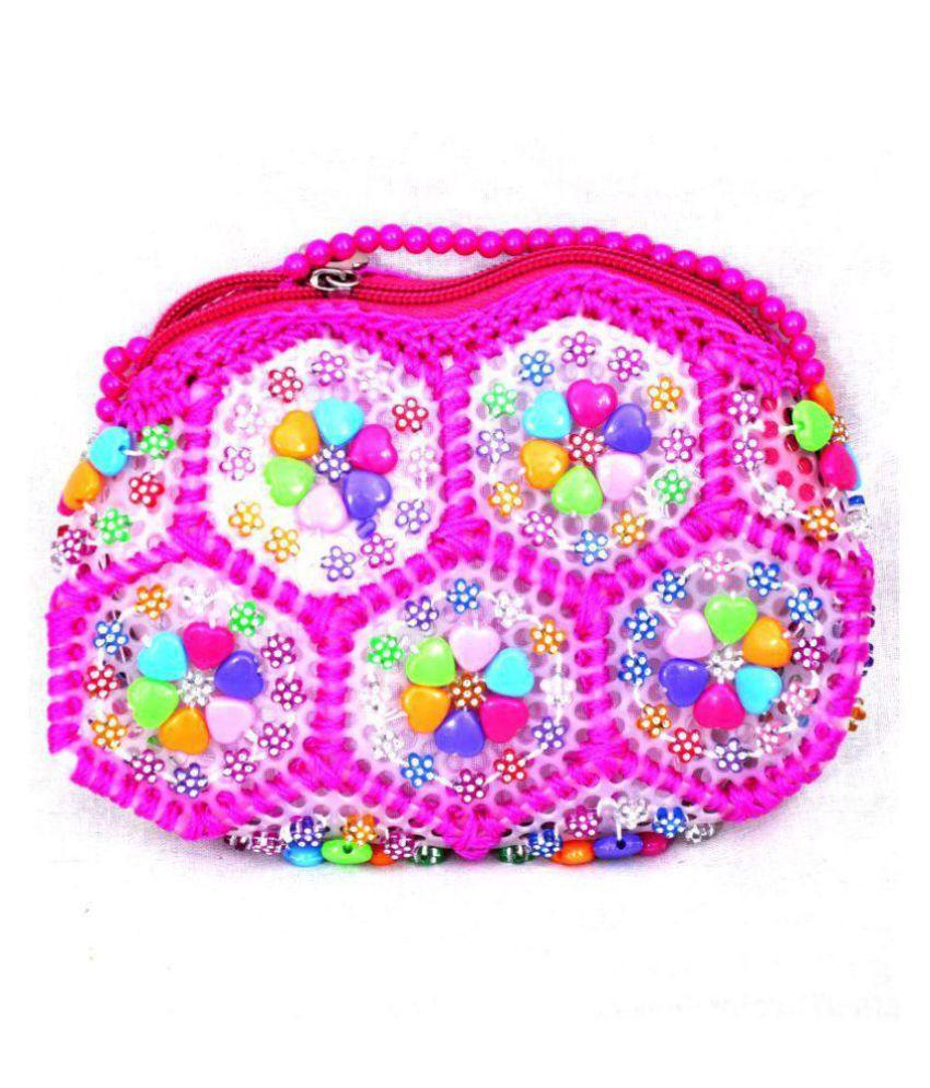 Brandbuckets Pink Polyster Sling Bag