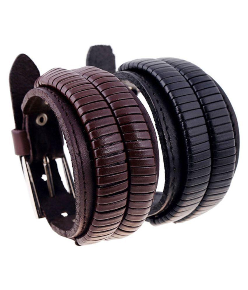 Friendship band leather bracelet