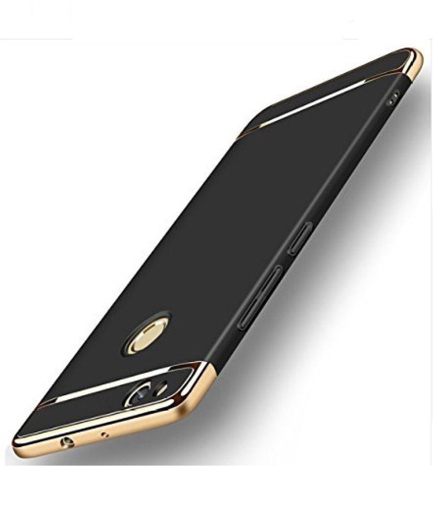 new concept be779 b002f Xiaomi Redmi Note 5A Plain Cases 2Bro - Black - Plain Back Covers ...