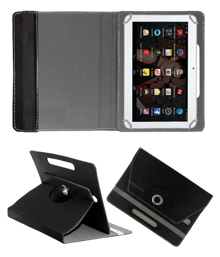 iBall Slide 1026-q18 Flip Cover By Fastway Black
