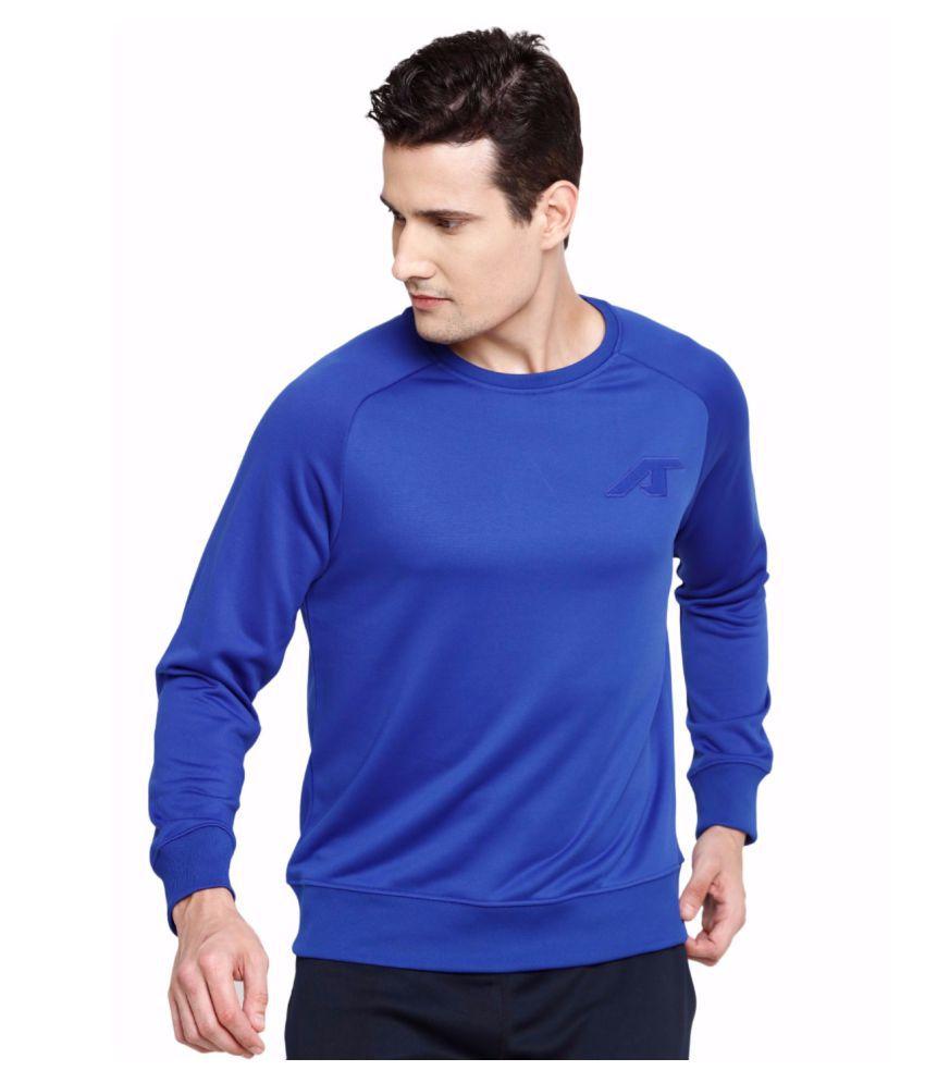 Alcis Men Blue Camou Sweat