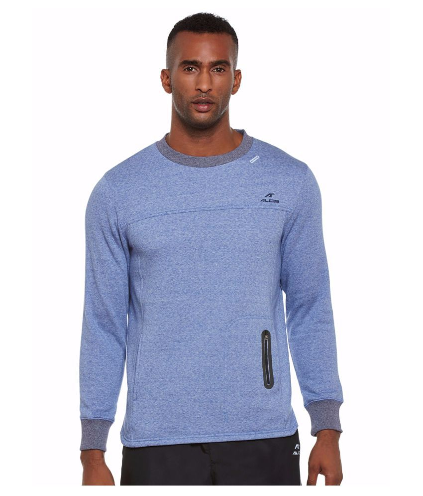 Alcis Men Blue Easy Train Sweat