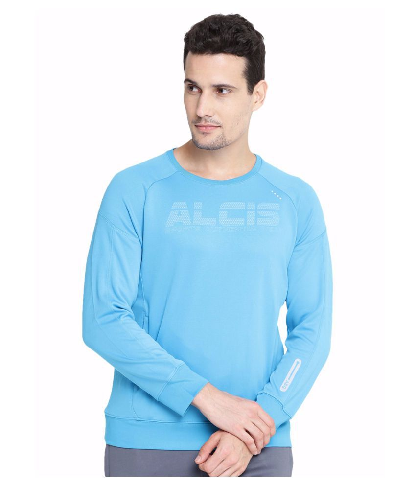 Alcis Men Blue Warm Sweatshirt