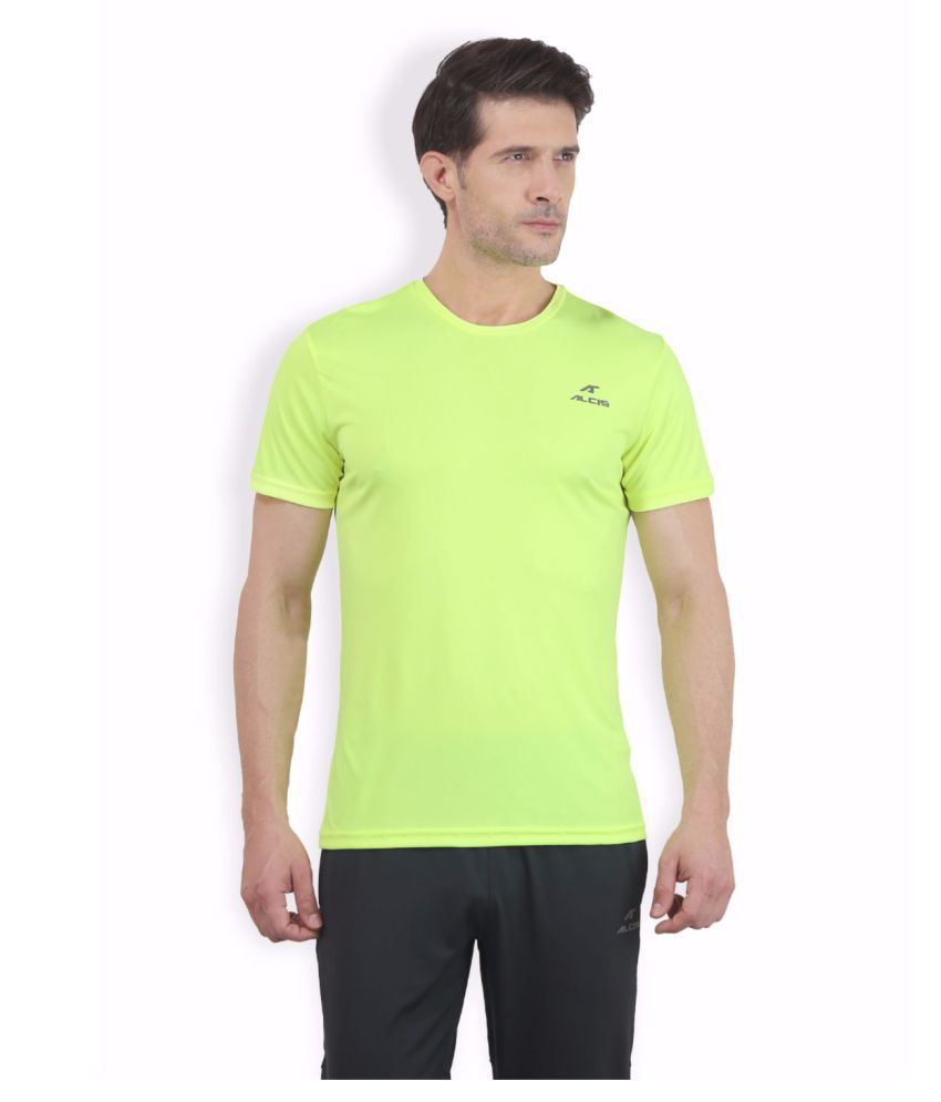 Alcis Men Green Tee