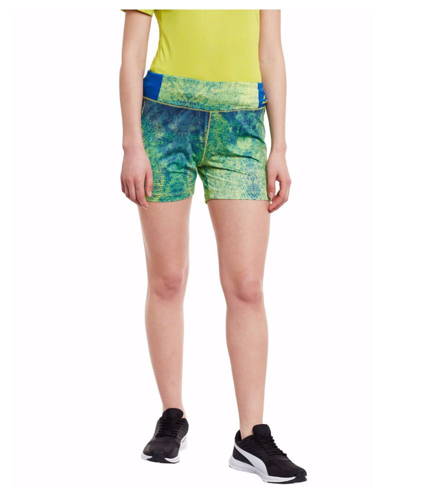 Alcis Women Blue Shorts