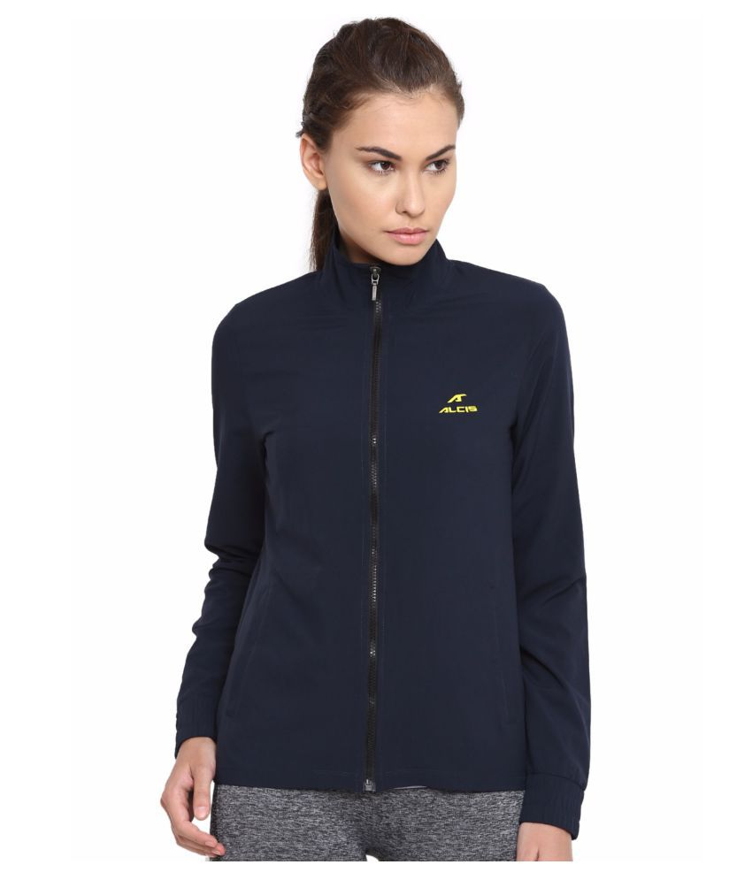 Alcis Women Blue Train Sweat