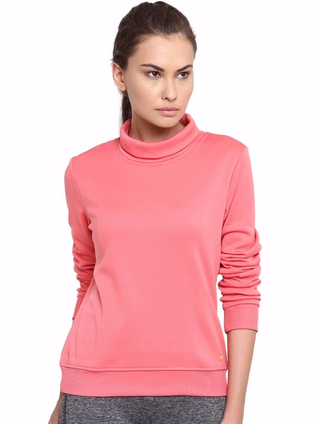 Alcis Women Pink Slounge Sweat
