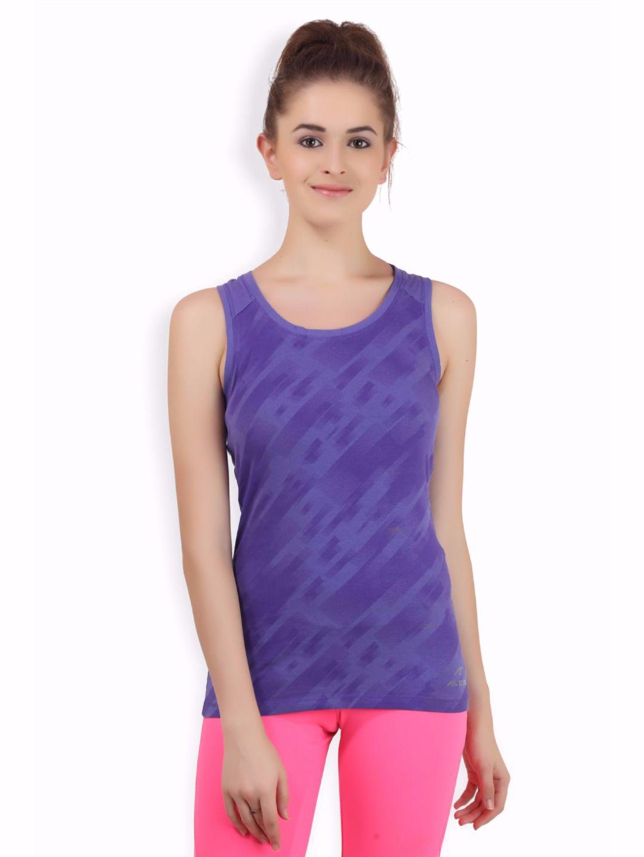 Alcis Women Purple Top