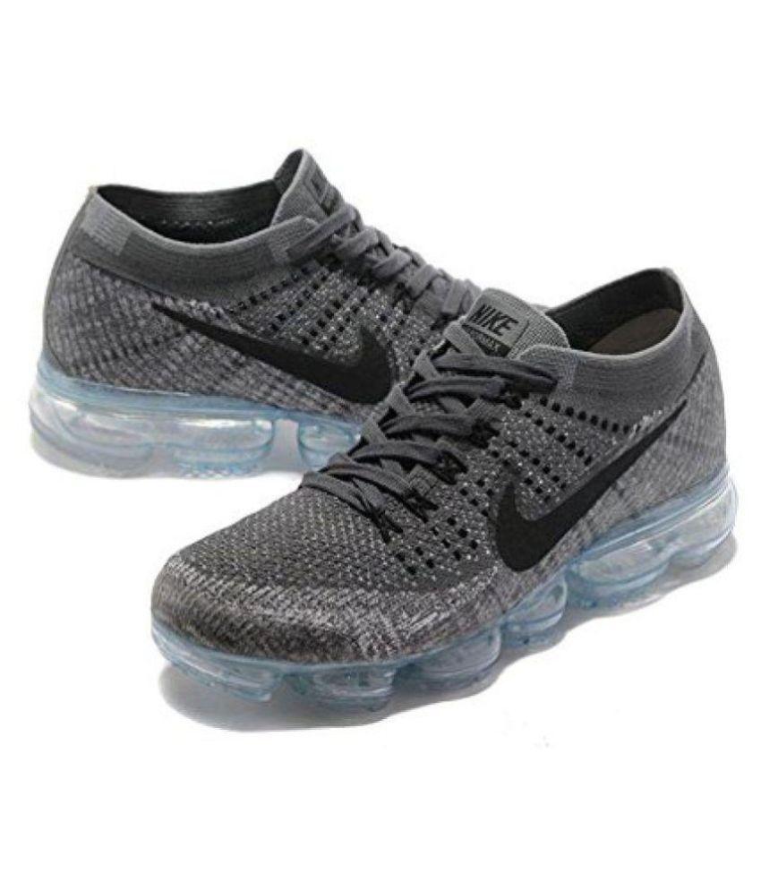 f2b7d296ae Nike Air Vapormax Flyknit Copy Gray Running Shoes - Buy Nike Air ...