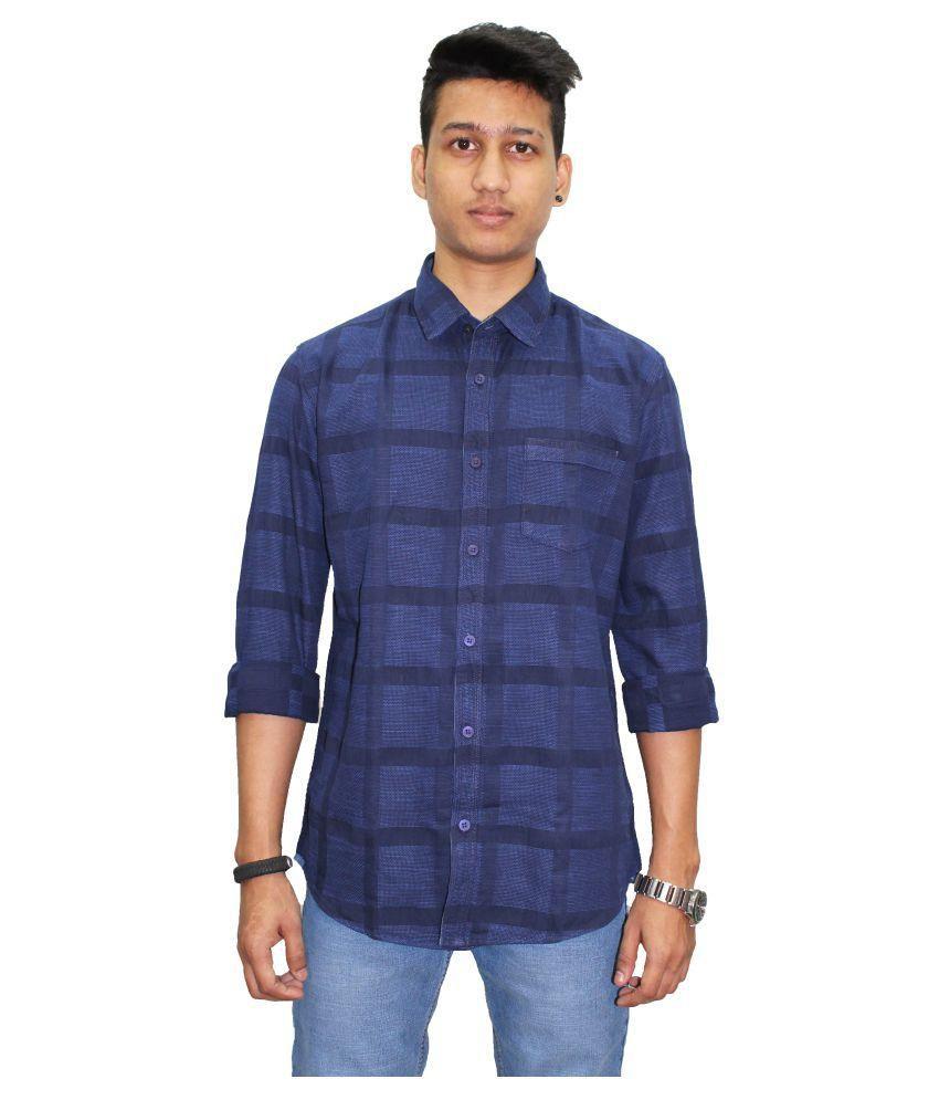 Southbay Navy Slim Fit Shirt