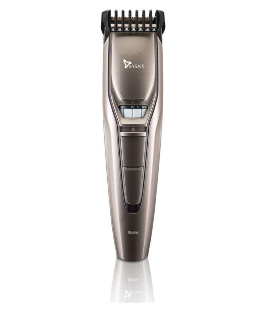 Syska HT400 Beard Trimmer ( Black )