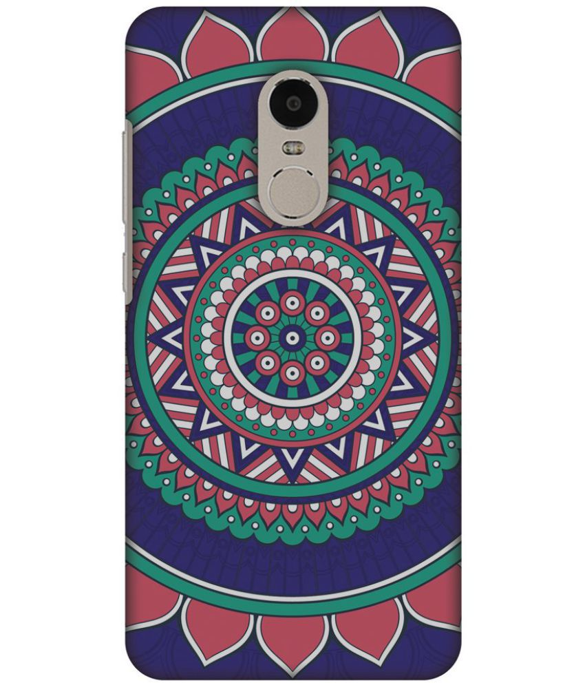 Xiaomi Redmi Note 4 Printed Cover By AMZER