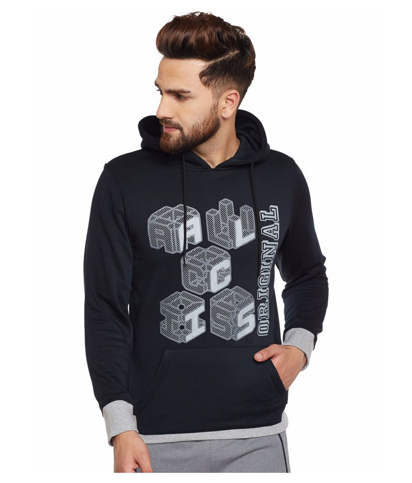 Alcis Mens Black Sweatshirt