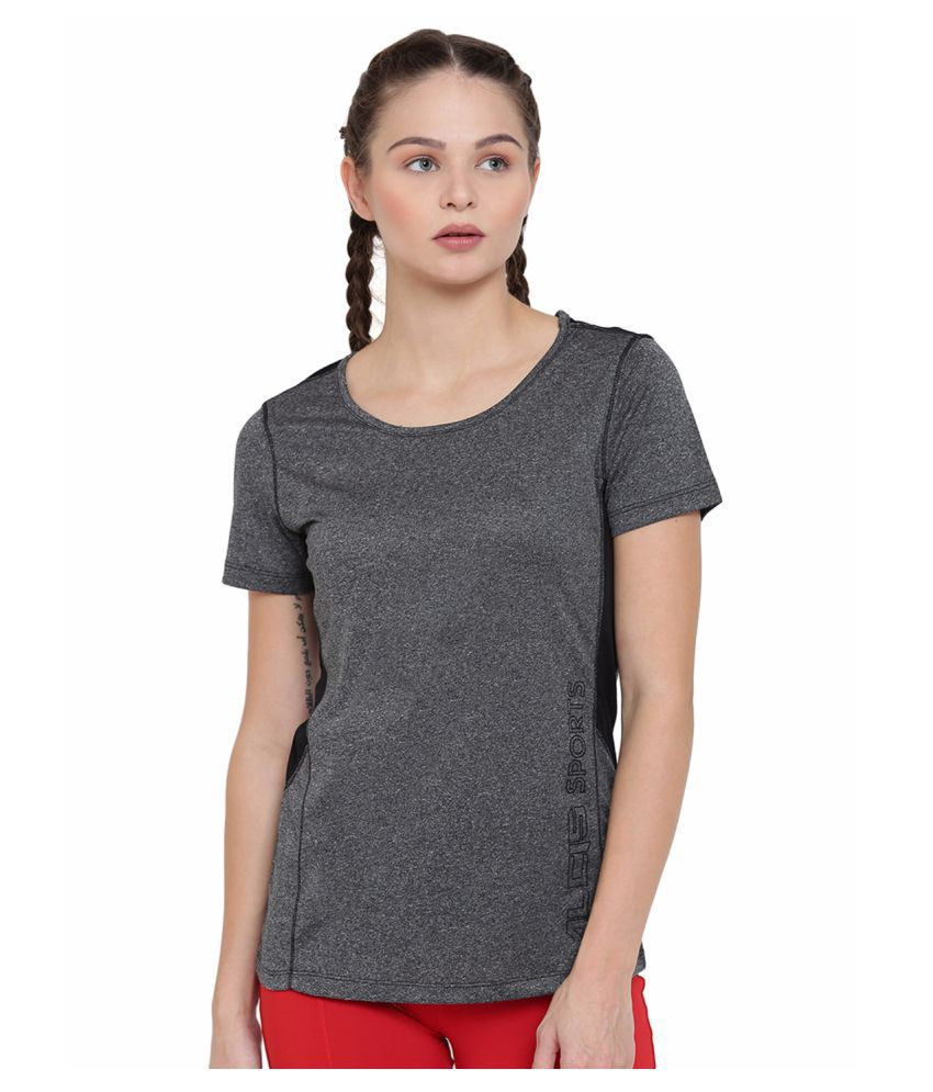 Alcis Womens Black Tee