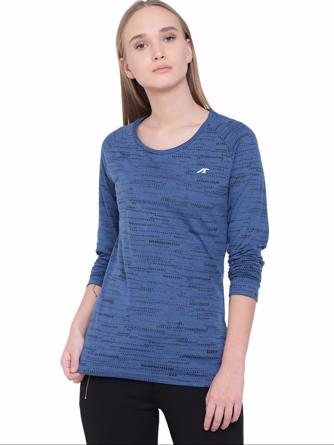 Alcis Womens Blue Tee