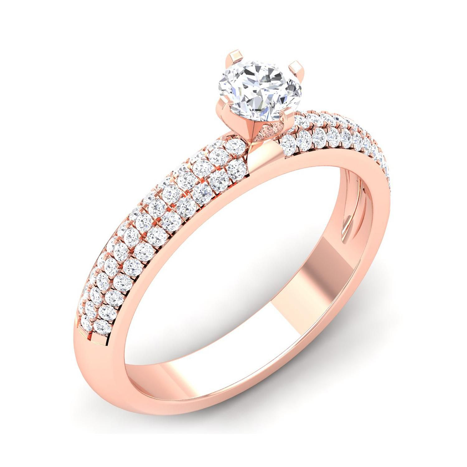 Me-Solitaire 18k Gold Ring
