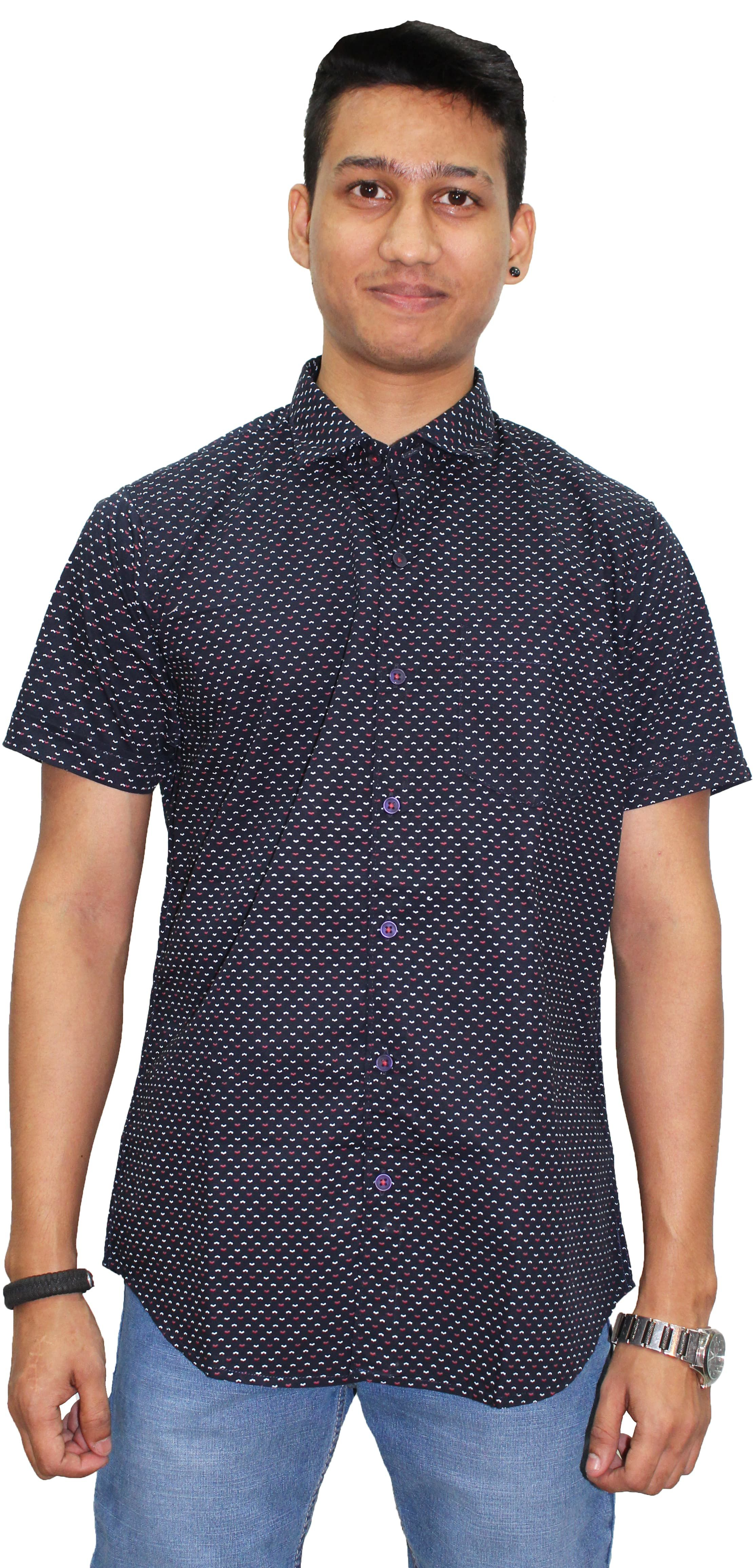 Southbay Blue Slim Fit Shirt