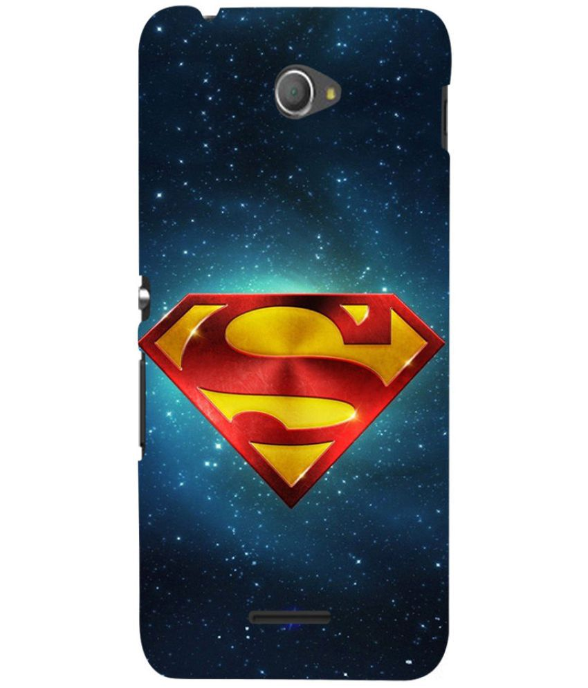 Sony Xperia E4 Printed Cover By Case King