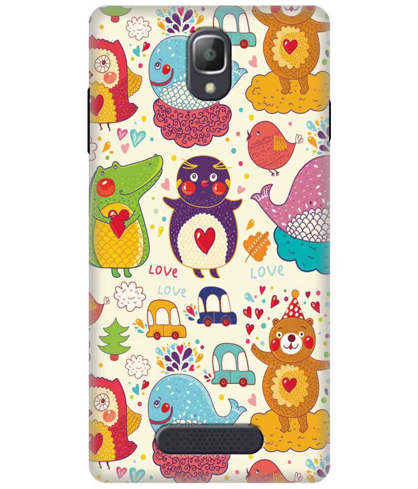 Oppo Neo 5 3D Back Covers By Wow