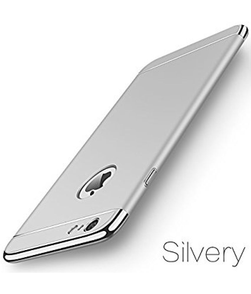 Apple iPhone 7S Plus Plain Cases Ipaky - Silver