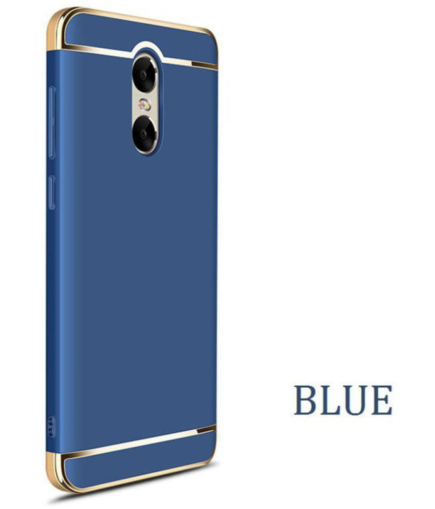 quality design b6b08 224f4 Xiaomi Redmi Note 4 Plain Cases Ipaky - Blue