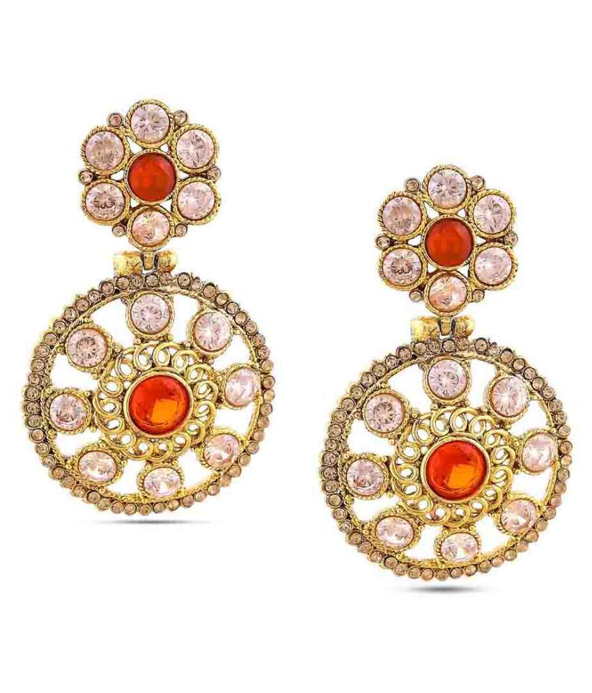 Maalyaa Brass Fashion Stud & Drops for Women & Girls