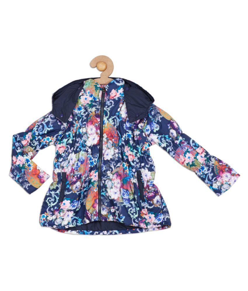 612 League Navy Girls Jacket