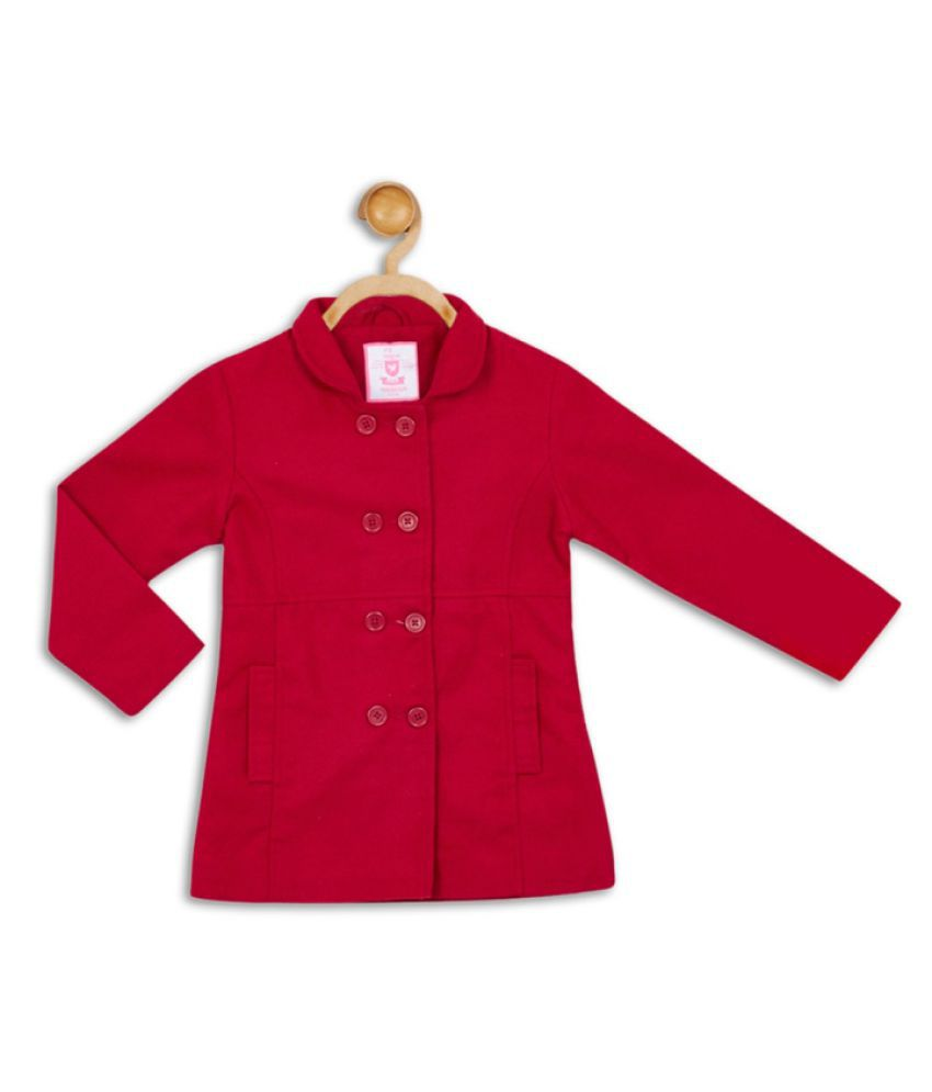 612 League Red Girls Coat