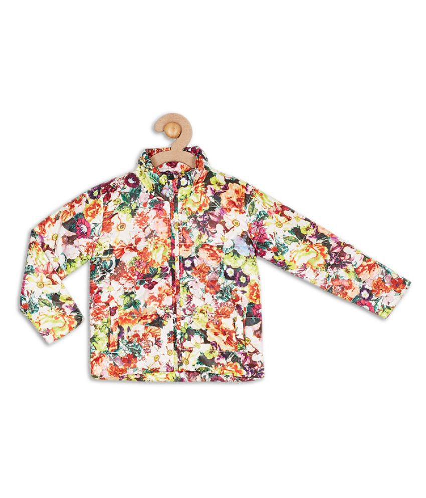 612 League White Girls Jacket