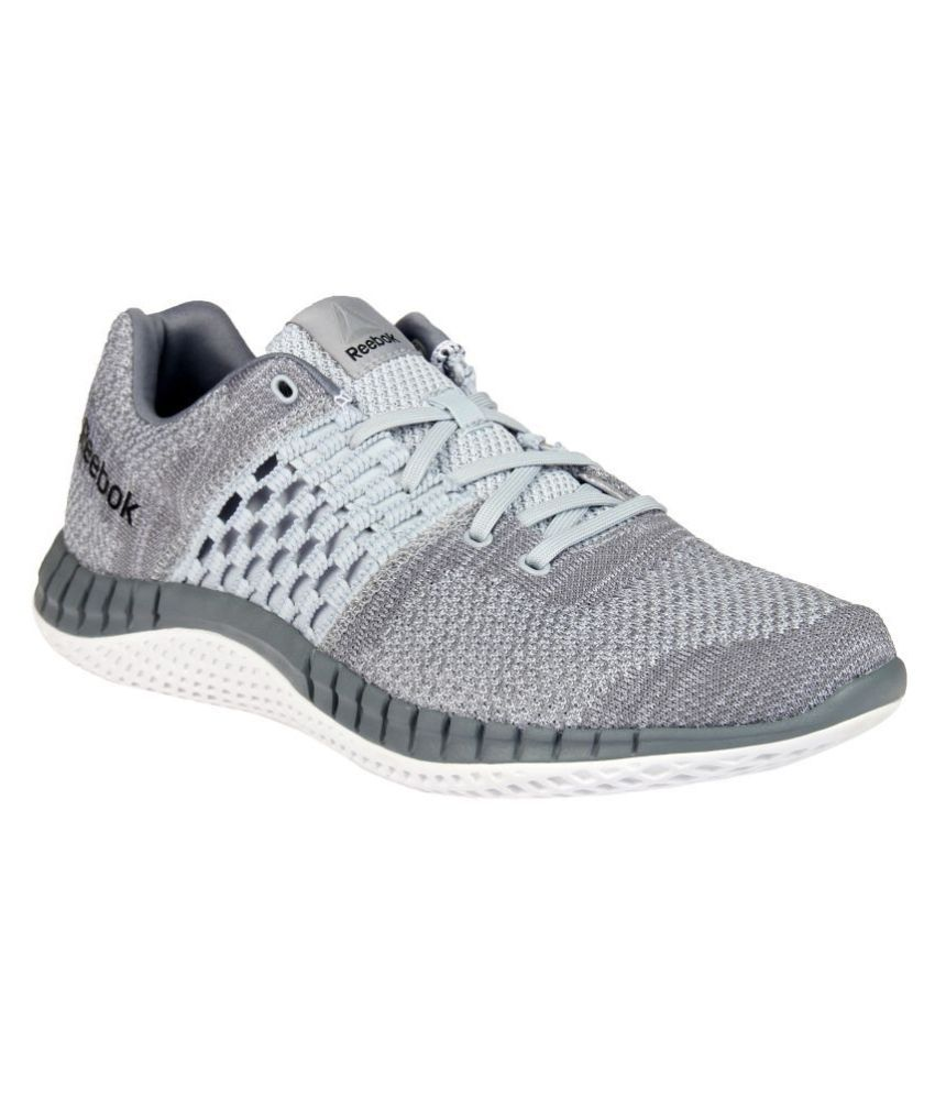 10a62d1f931 Reebok ZPRINT RUN CLEAN ULTK Gray Running Shoes - Buy Reebok ZPRINT RUN  CLEAN ULTK Gray Running Shoes Online at Best Prices in India on Snapdeal