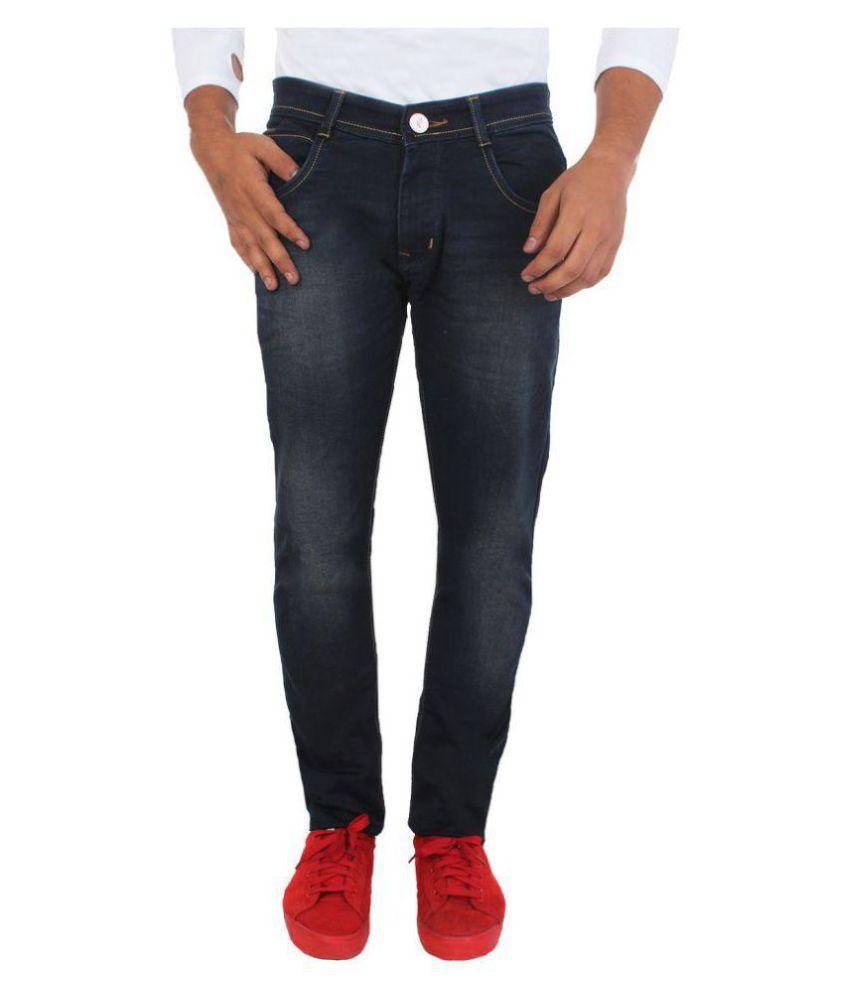 Flying Port Black Slim Jeans