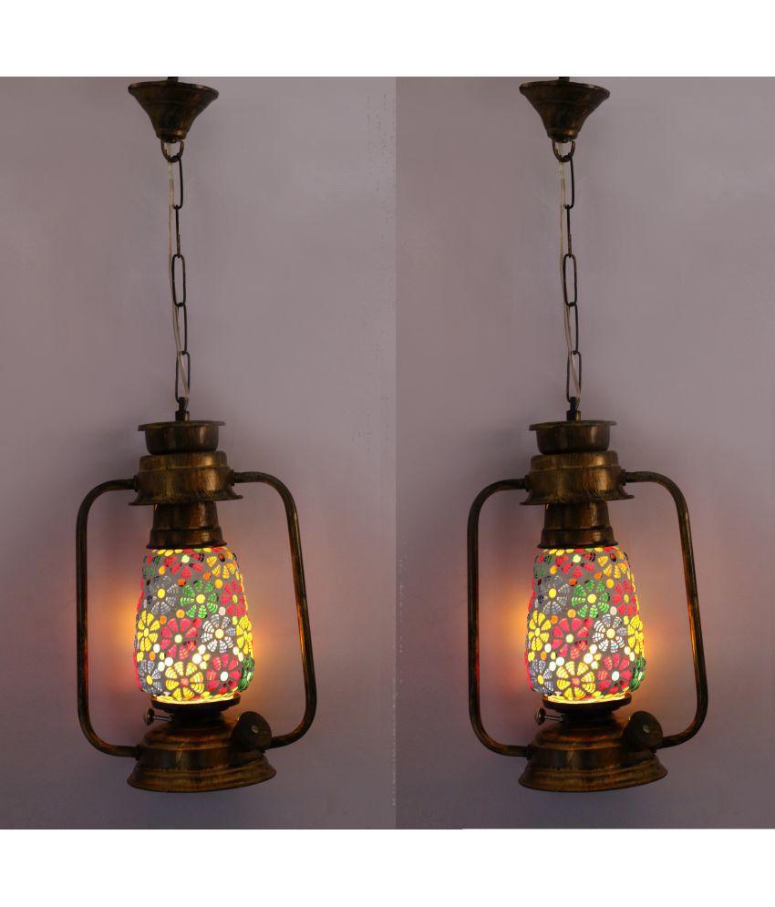 Somil Hanging Lanterns 61 - Pack of 2