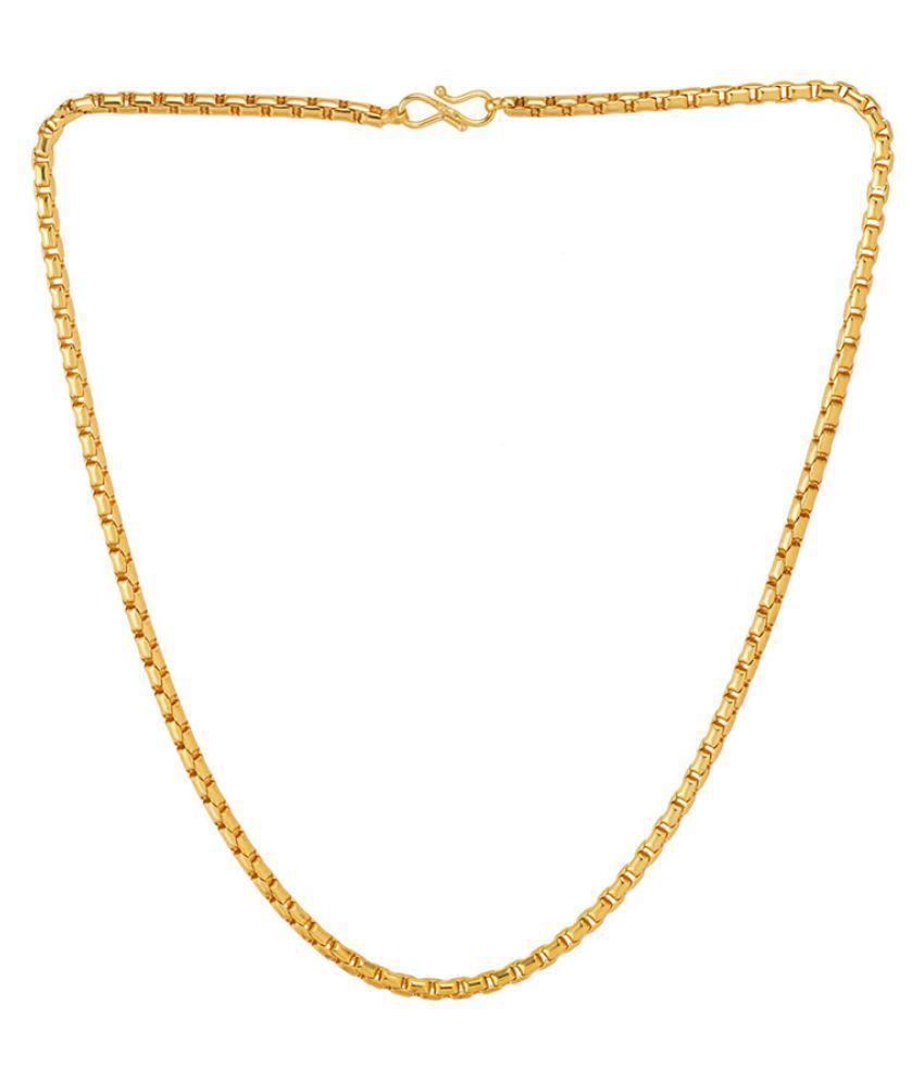 Dare by Voylla Box Style Men's Chain