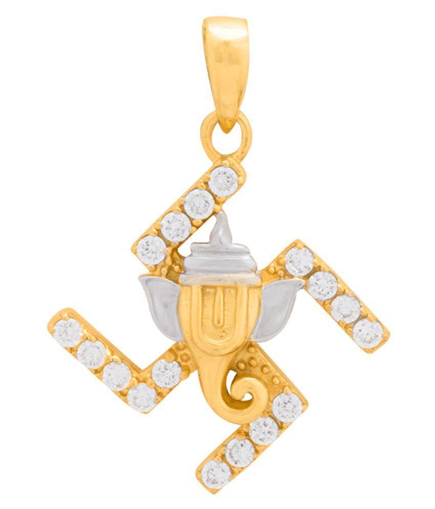 Dare by Voylla Spiritual Saga Swastika with Ganpati Pendant