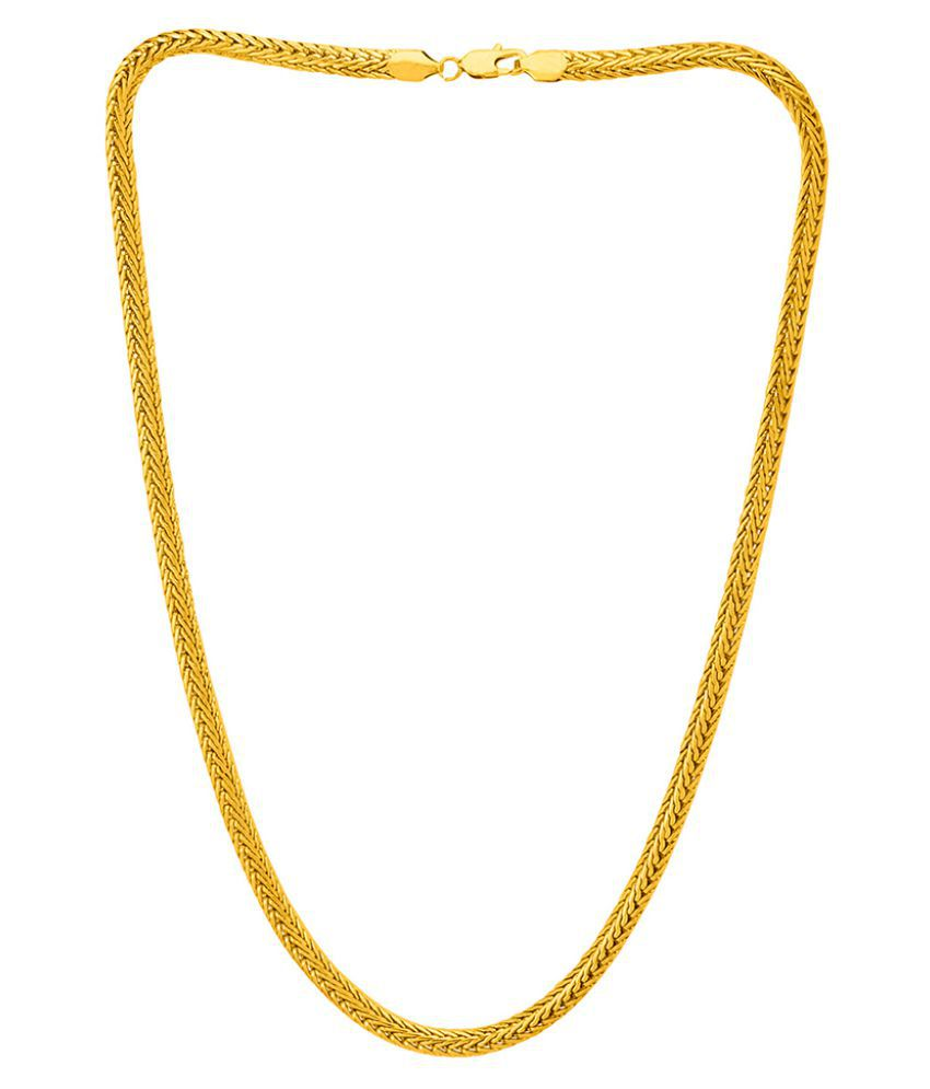 73249beb9a Dare by Voylla Stainless Steel Men's Link Chain: Buy Online at Low Price in  India - Snapdeal