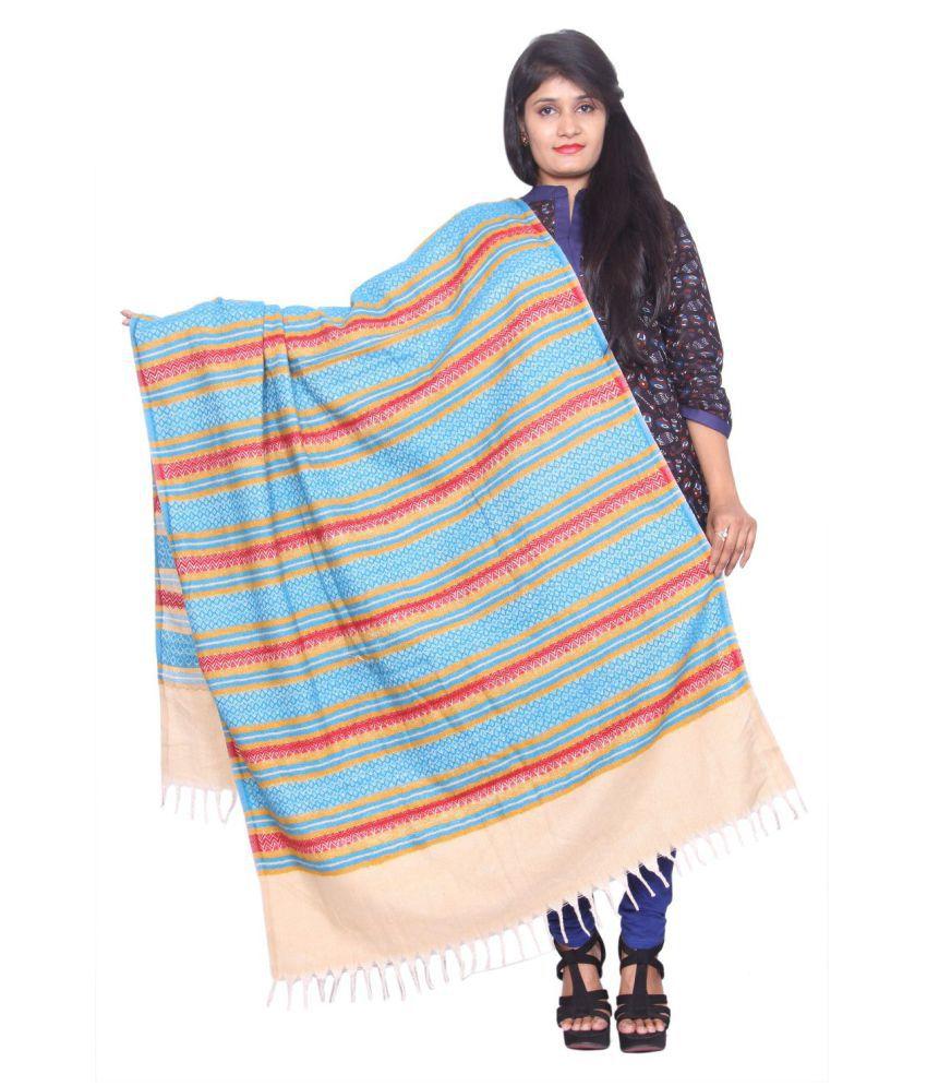 Rama Multicoloured Stripes Shawl